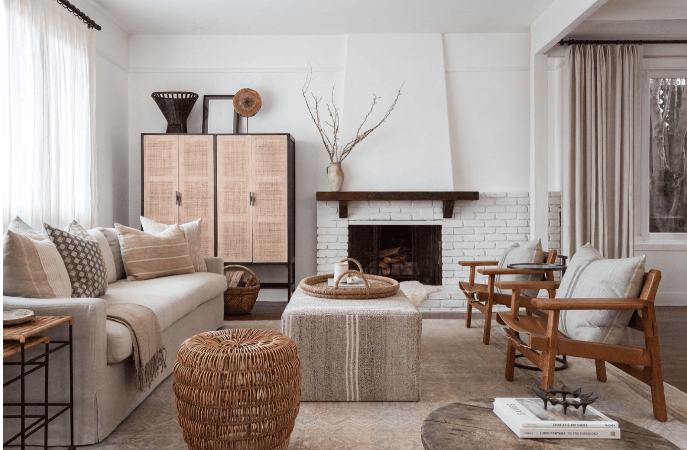 how to clean fireplace living room
