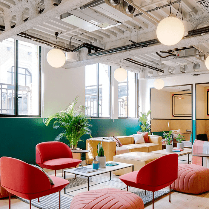 WeWork's Paris location