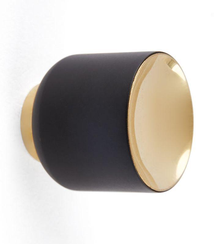 Dyer Cabinet Knob - Black