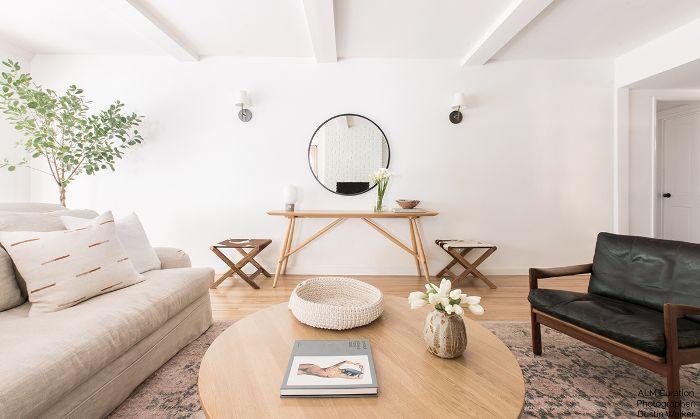 Moderna sala de estar de California