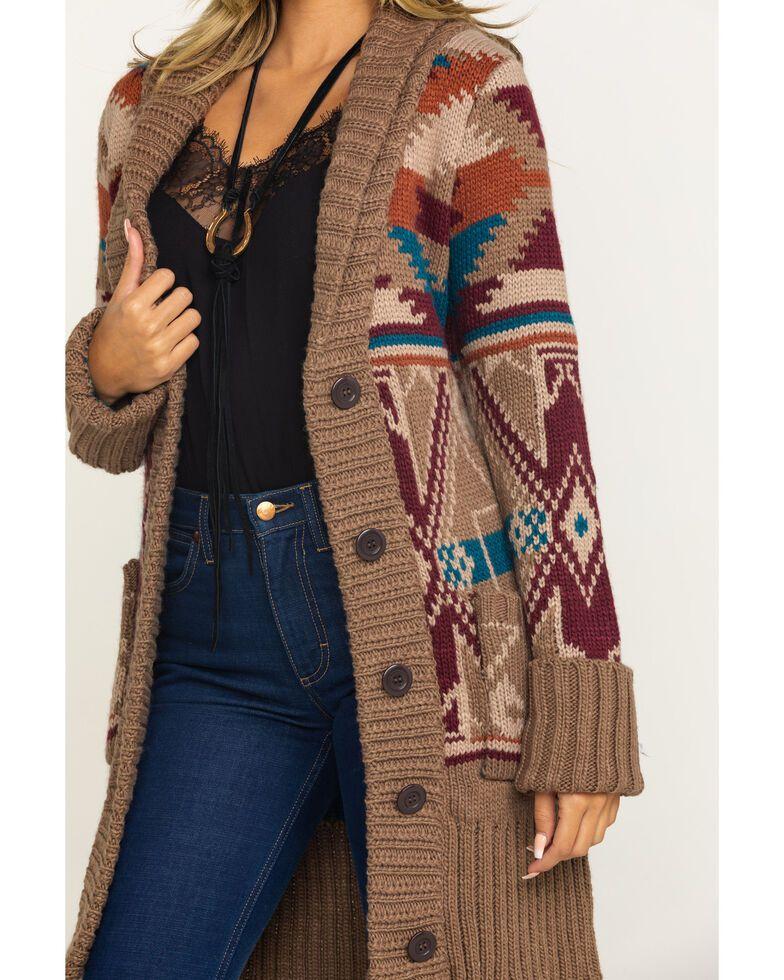 Suéter chal azteca