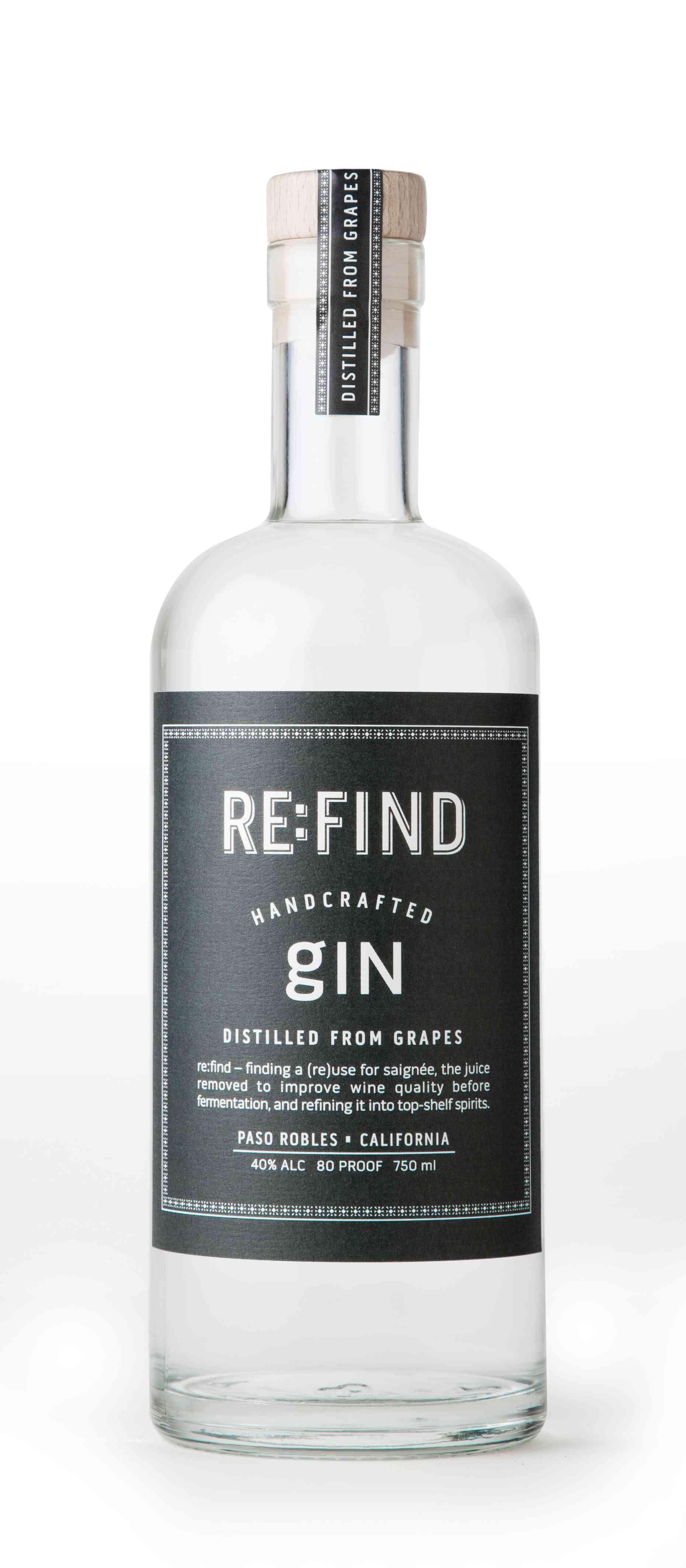 Bottle of Re:Find Gin