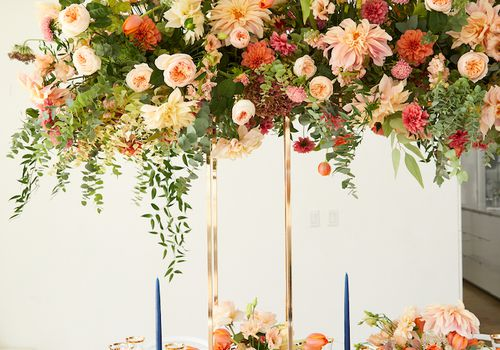 B Floral—proper way to set a table