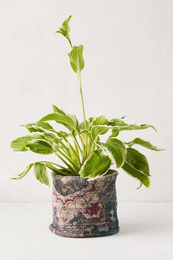 Urban Outfitters Chenille Planter Holder
