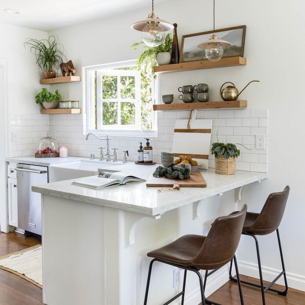 A small but space-efficient kitchen