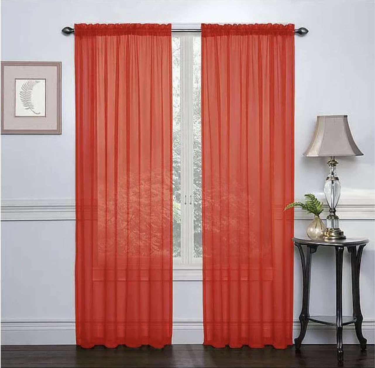 Coquelicot curtains