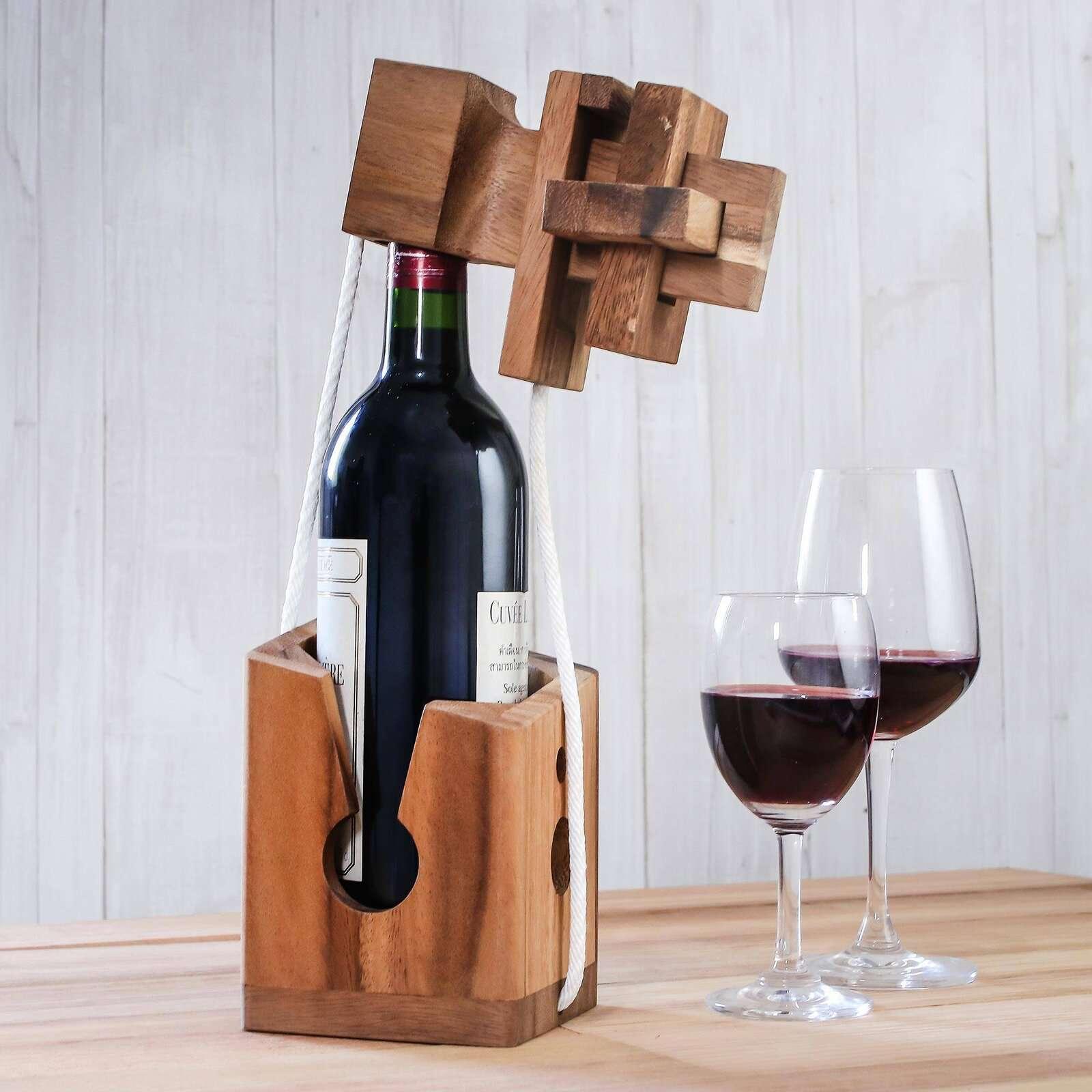 Millwood Pines Crawfordsville Don't Break It Bottle Puzzle Game