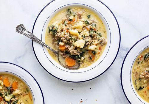 Copycat Low Carb Zuppa Toscana Soup