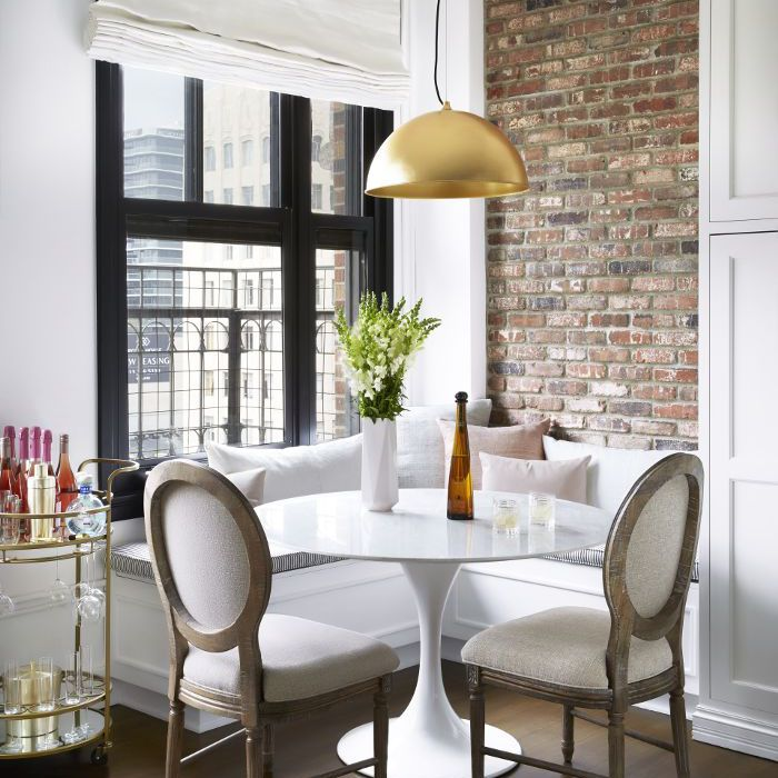 Olivia Culpo Home Tour—Dining Nook