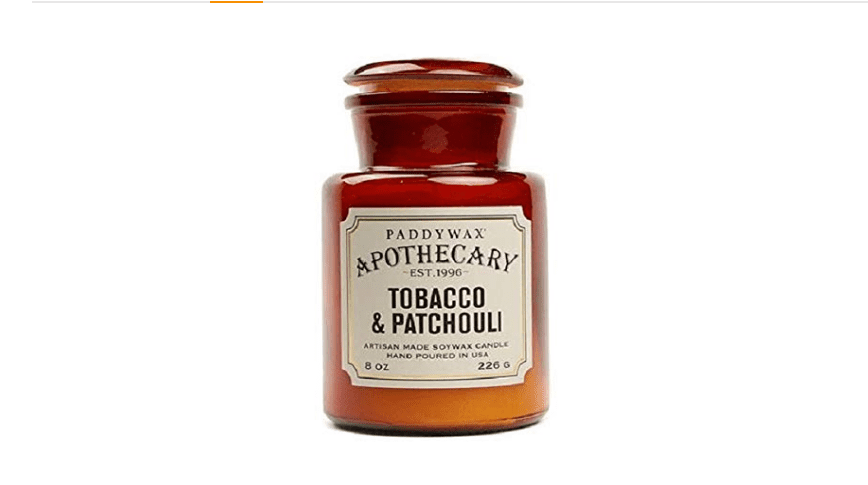 apothecary jar candle