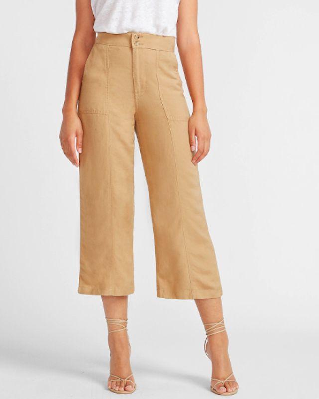 pantalón color khaki