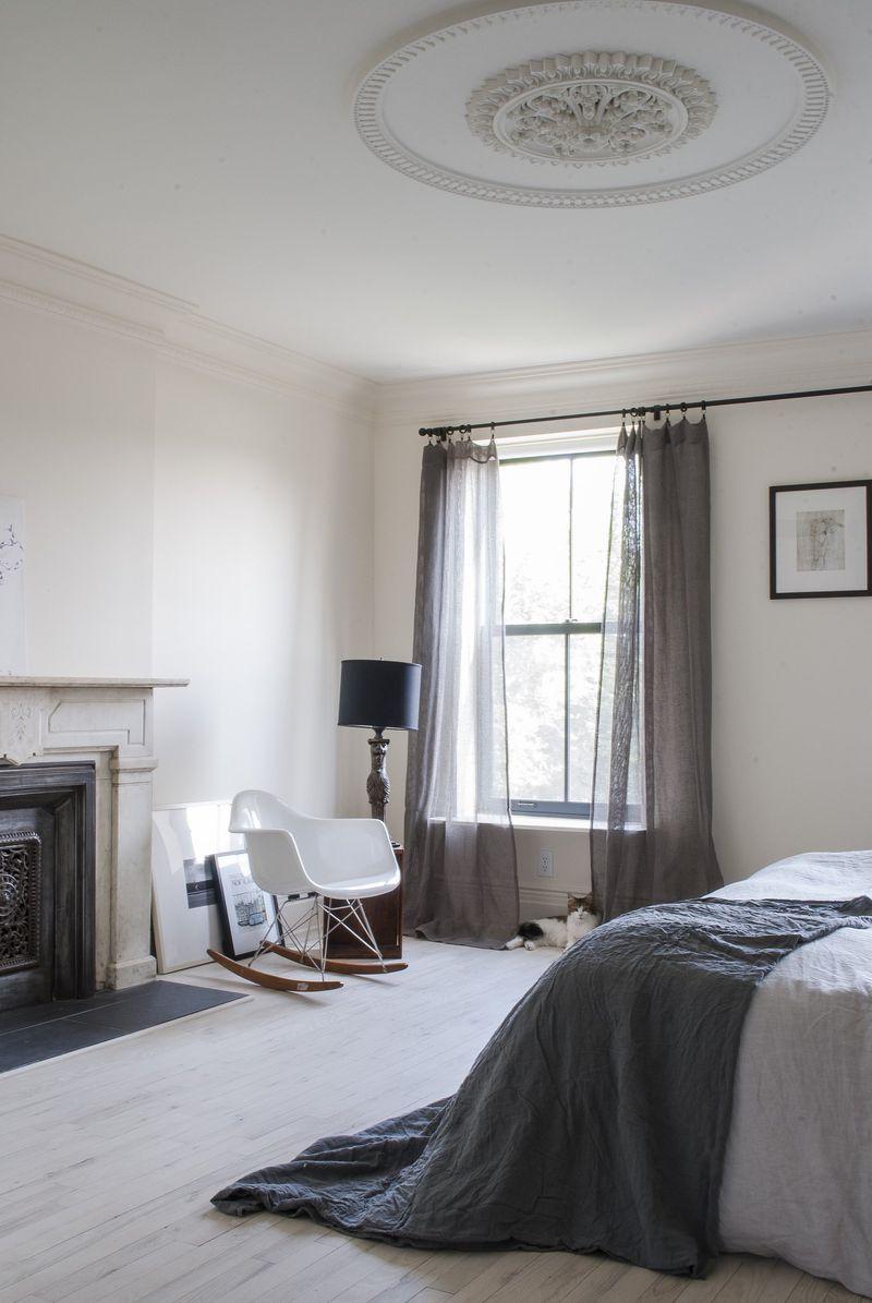 gray bedrooms