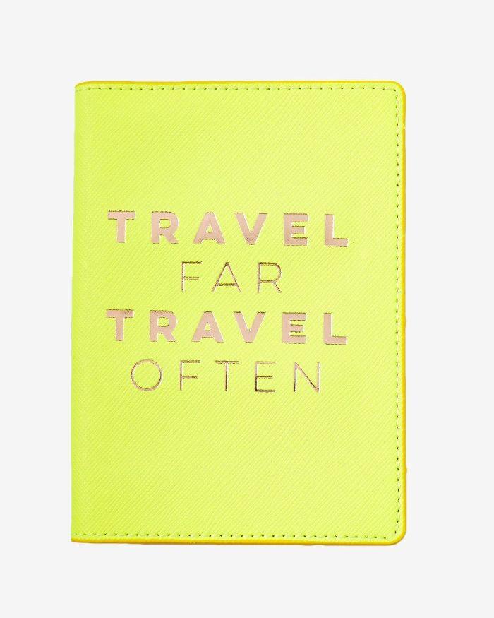 Eccolo Ltd Travel Far Passport Holder