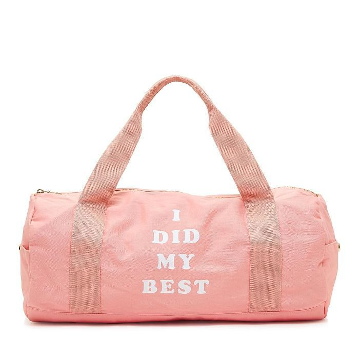 ban. do Work It Out Gym Bag, I Did My Best