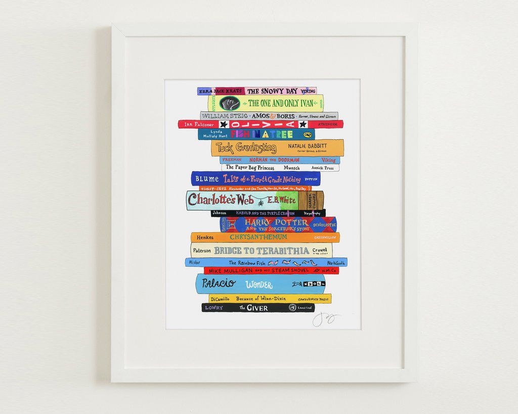 Ideal Bookshelf Custom Print