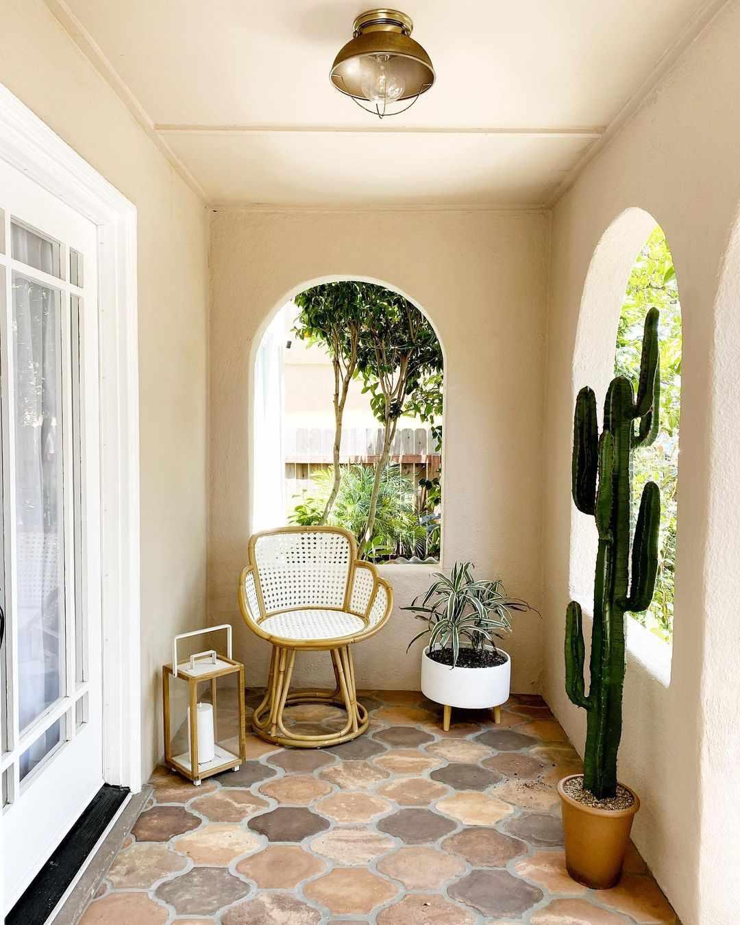 apartment patio minimalist