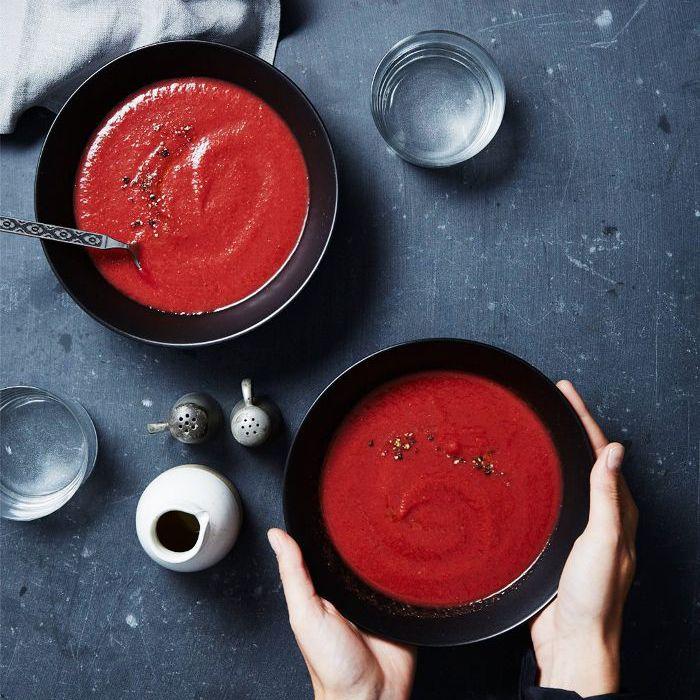 receta de sopa de desintoxicación: sopa balsámica de remolacha