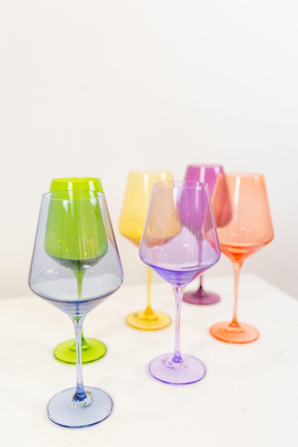 Estelle Colored Glass