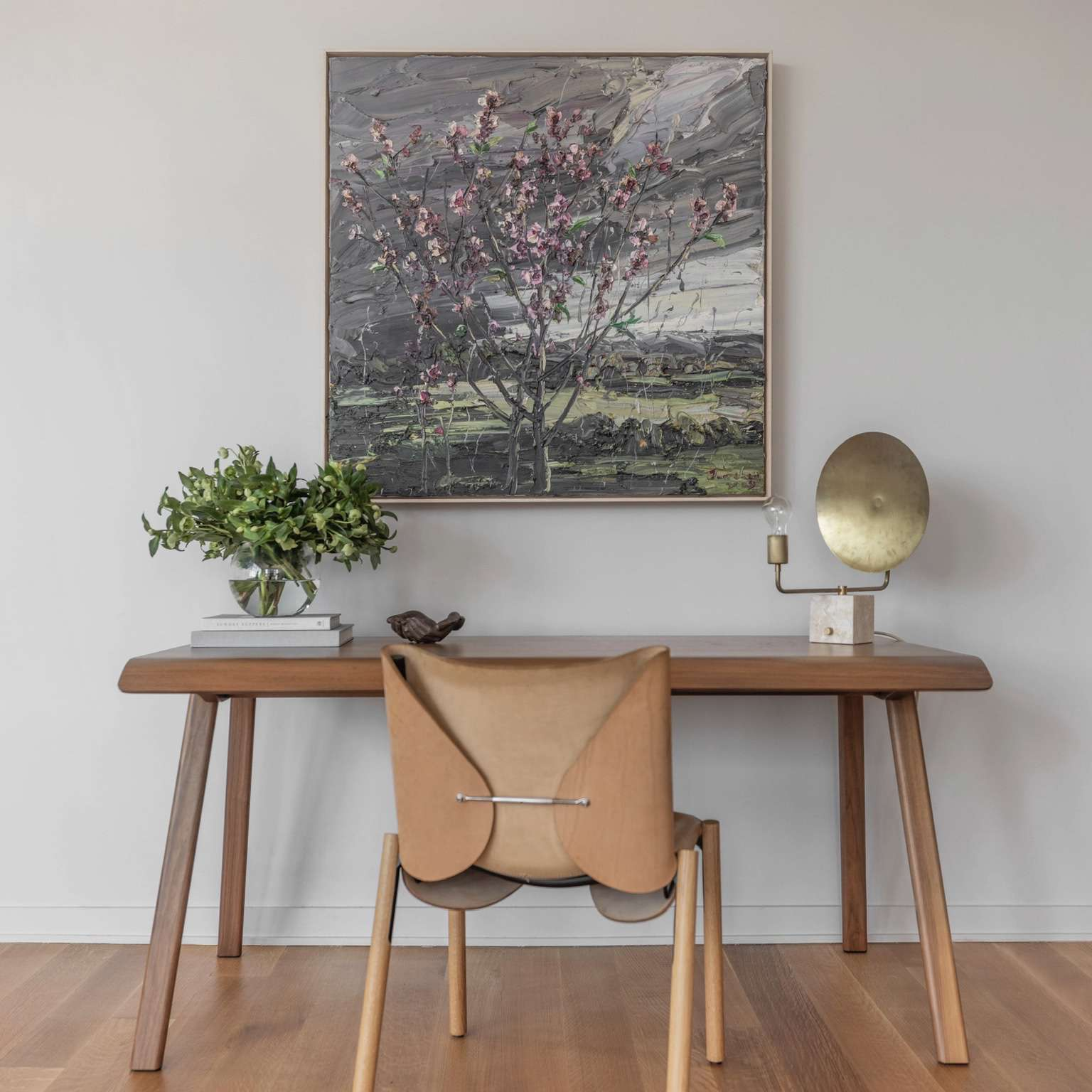 yael weiss home tour - home office set up