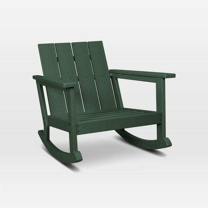 West Elm Polywood x West Elm Rocking Chair