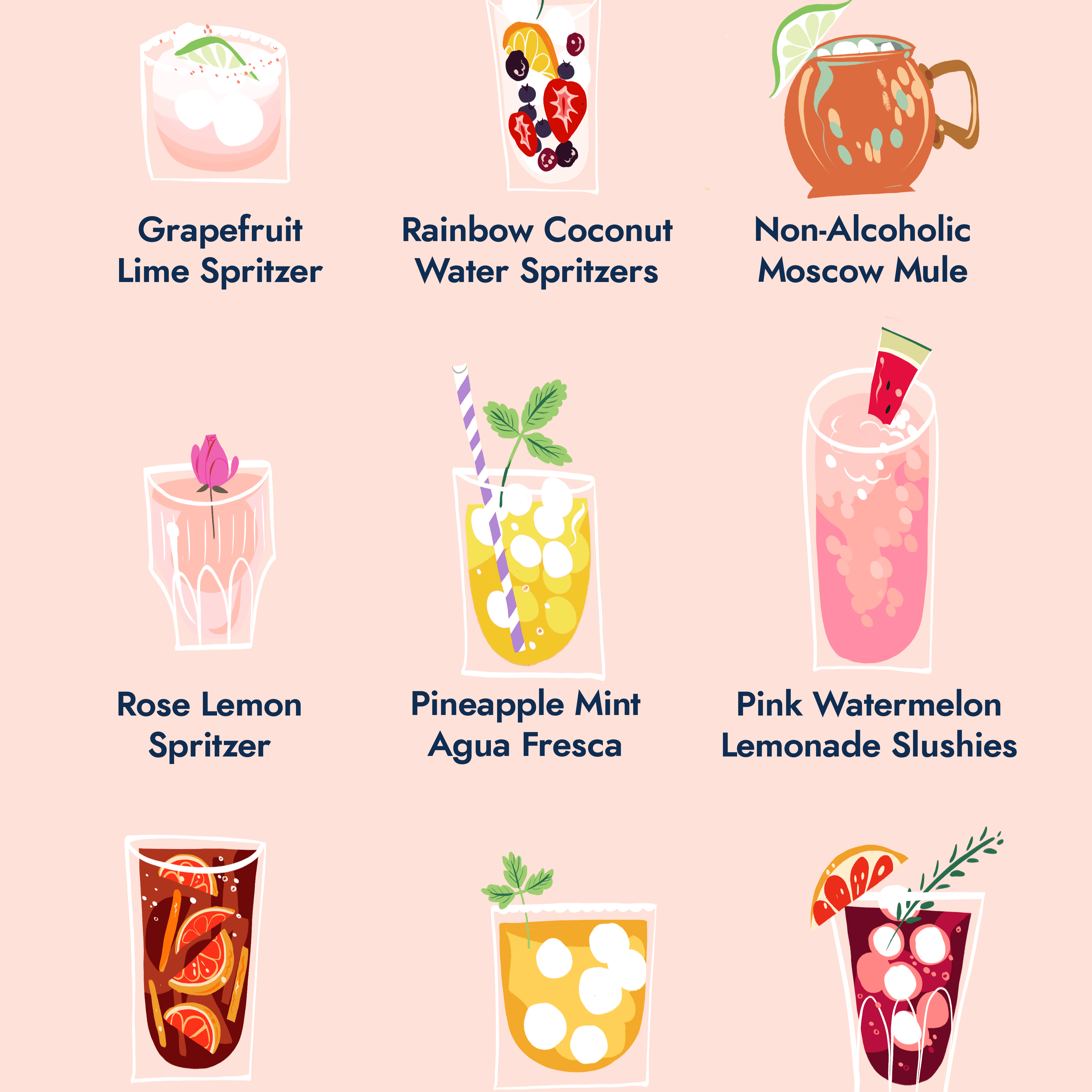 12 Non-Alcoholic Summer Drinks To Help Everyone Take It Easy