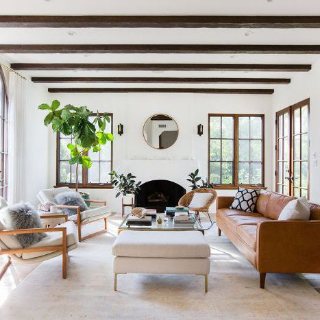 5 Easy Living Rooms Anyone Can Pull Off—Here's How to Get the Look