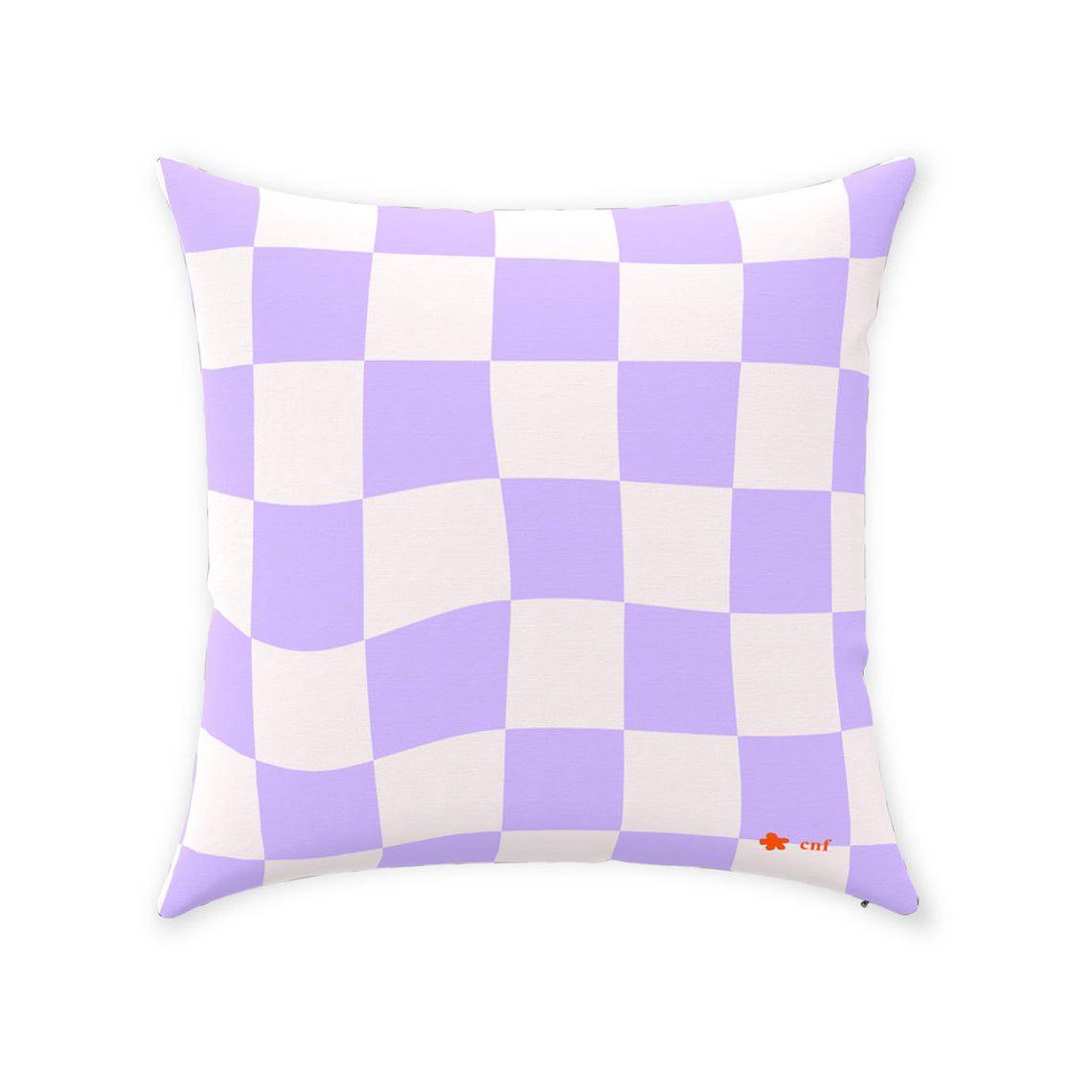 Checky Throw Pillows