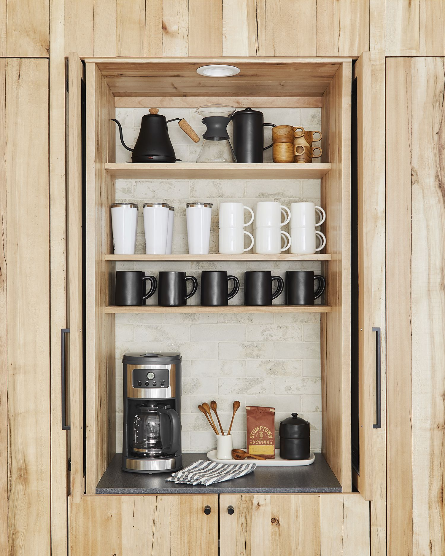 Home Coffee Bar Design Ideas: How To Set Up A Stylish Coffee Bar In Your Own Home