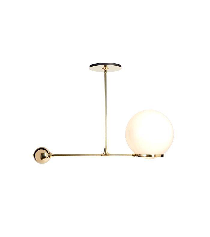O&G Contrapesso LED Globe Pendant