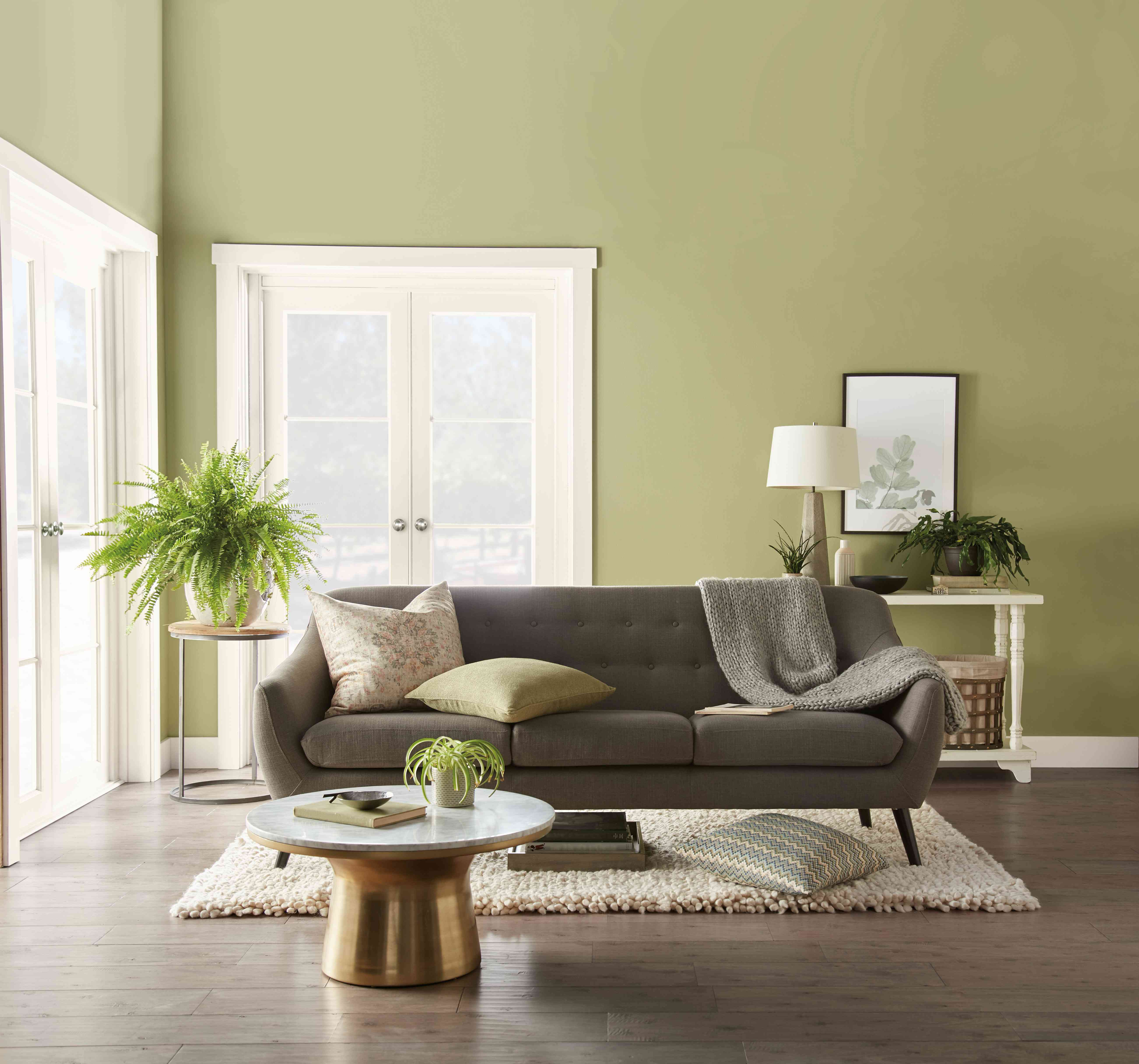 Interior Paint Colors 2020.Behr Color Of The Year 2020 Back To Nature