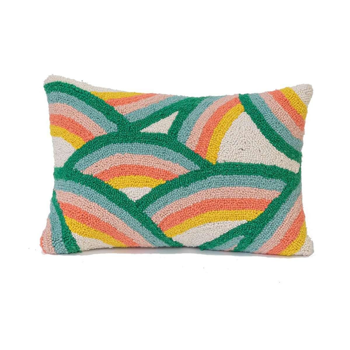 rainbow pillow