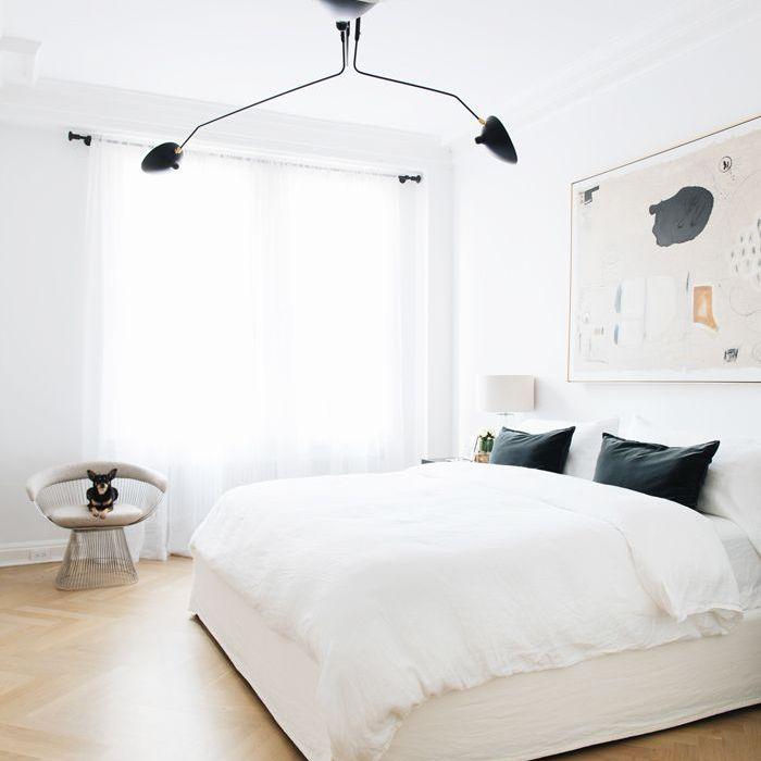 Dormitorio blanco: el recorrido por el hogar de Everygirl
