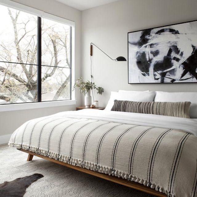 Classic midcentury modern bedroom