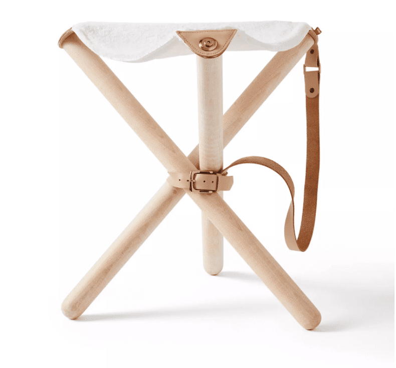 Portable Sherpa Folding Accent Stool