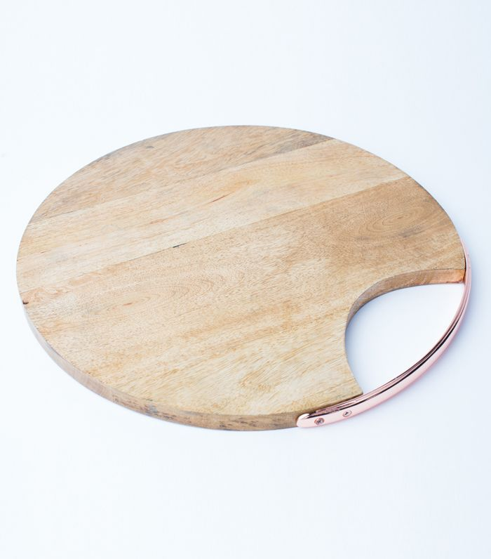 Uncommon James Copper Detailed Serving Board