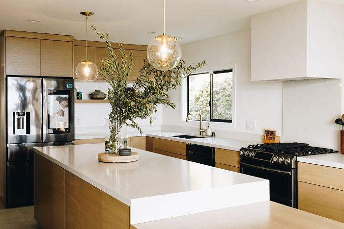 Chriselle Lim—Modern kitchen