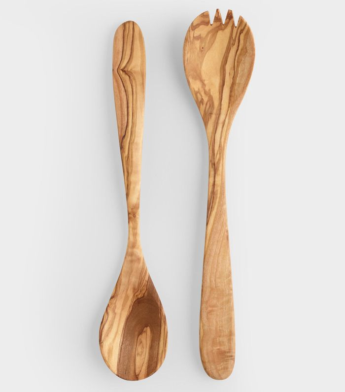 Olivewood Salad Servers, Set of 2: Natural by World Market