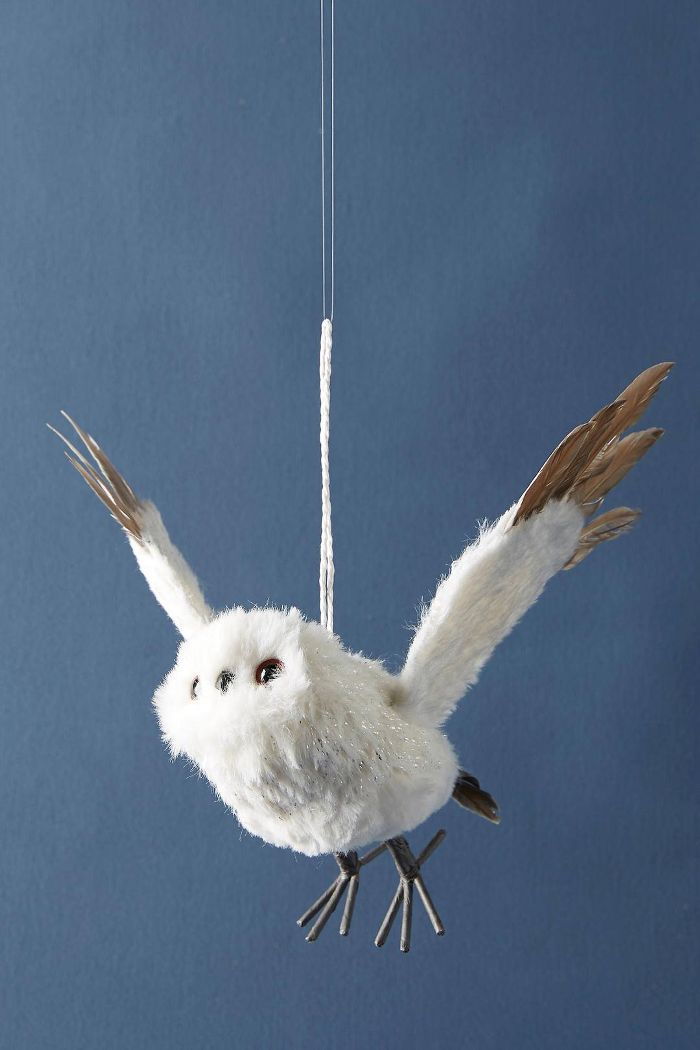 Flying Owl Ornament