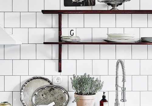 Subway Tiles in Kitchens