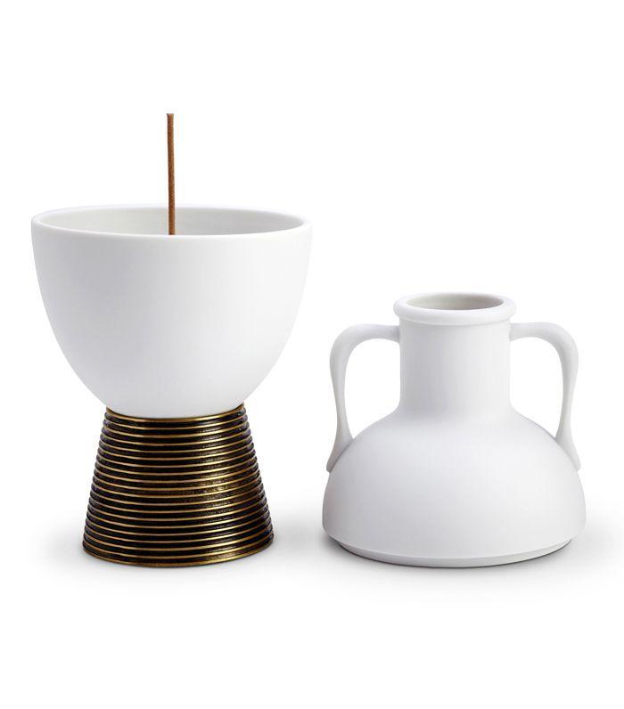 Amphora Porcelain Incense Holder