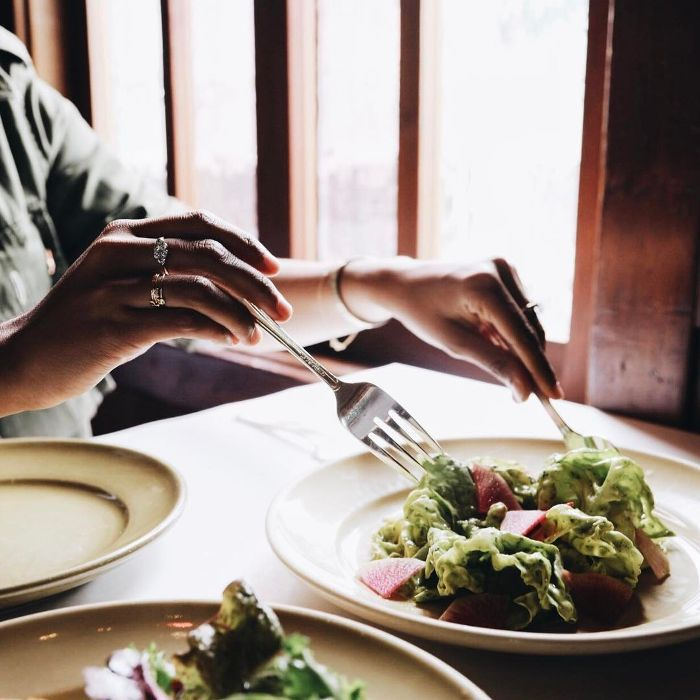 simple detox salad recipe