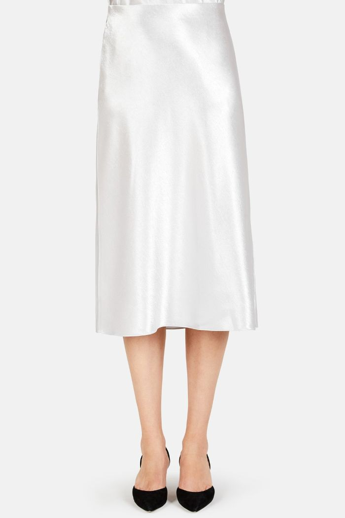 Vince Slip Satin Skirt