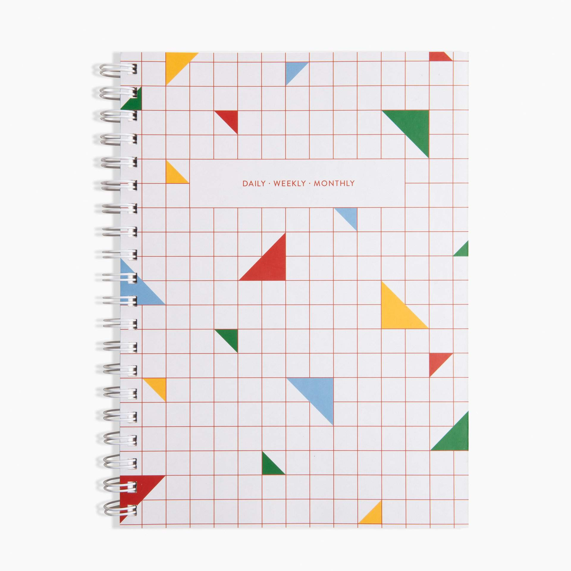 Daily Weekly Monthly Planner in Multi