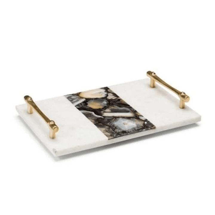 Marble tray.