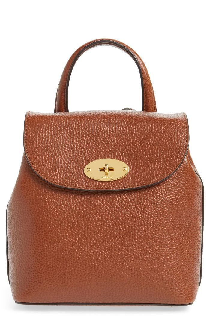 Mini Bayswater Calfskin Leather Convertible Backpack -