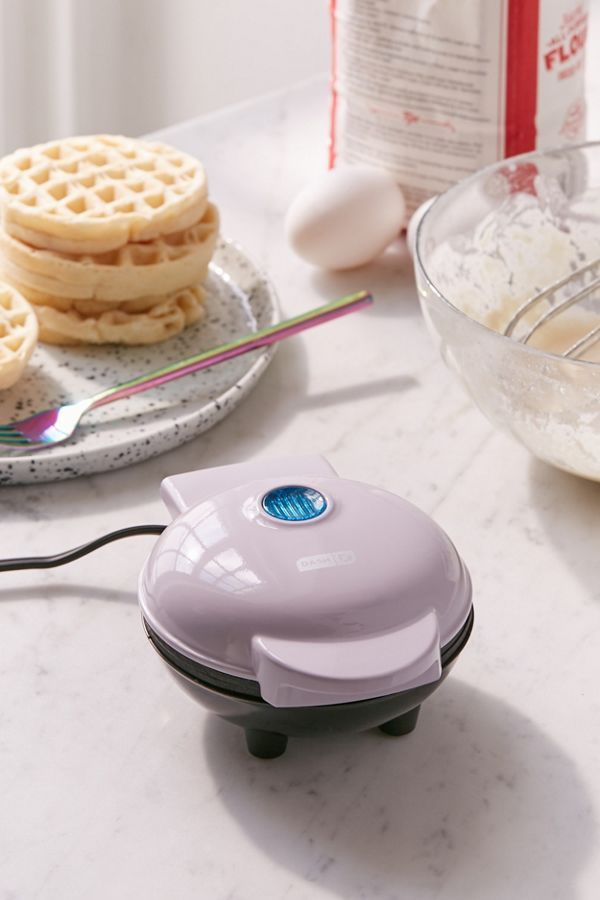 Mini Waffle Maker - White One Size at Urban Outfitters