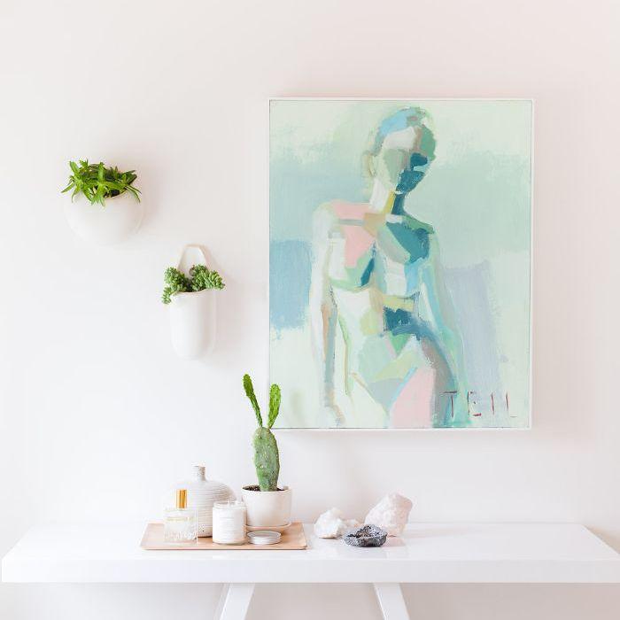 Arte abstracto de la pared: Alyssa Rosenheck, Un hermoso desastre