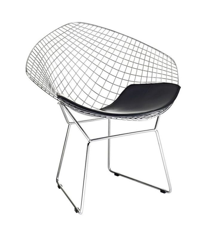 Fine Mod Imports Wire Diamond Chair