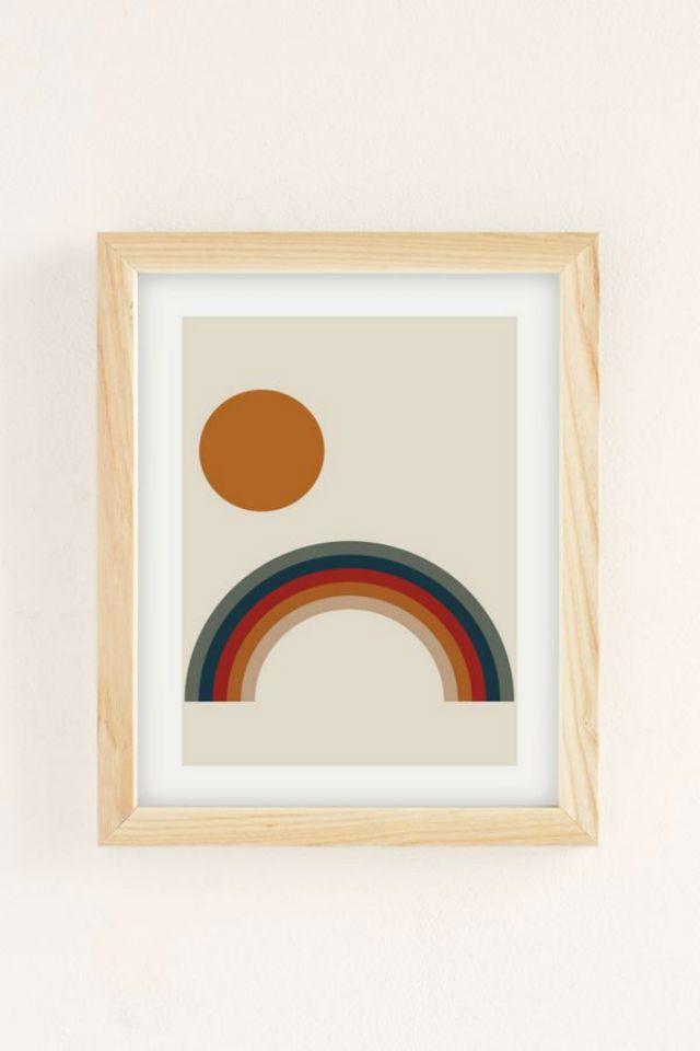 Nostalgia Rainbow Art Print