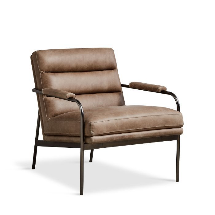 West Elm Camden Leather Chair
